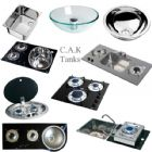 CAN Glass Hobs, Sinks & Combination Units